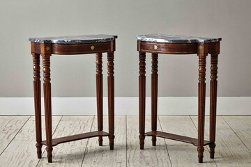 atable459 pair regency pier tables