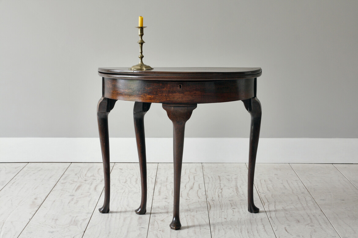 atable495 george 3 mahogany card table