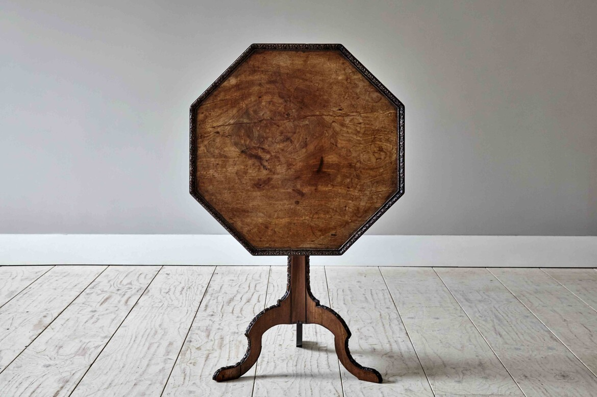 atable462 george 3 walnut tripod table